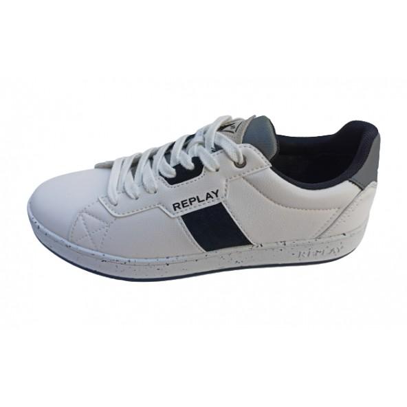 Replay RZ2V0012S sneaker white black grey