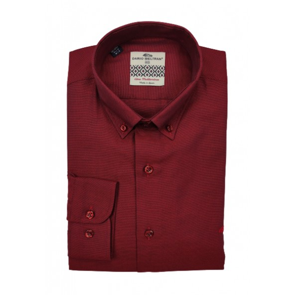 Dario beltran 3VFG ADANERO 62 shirt bordeaux