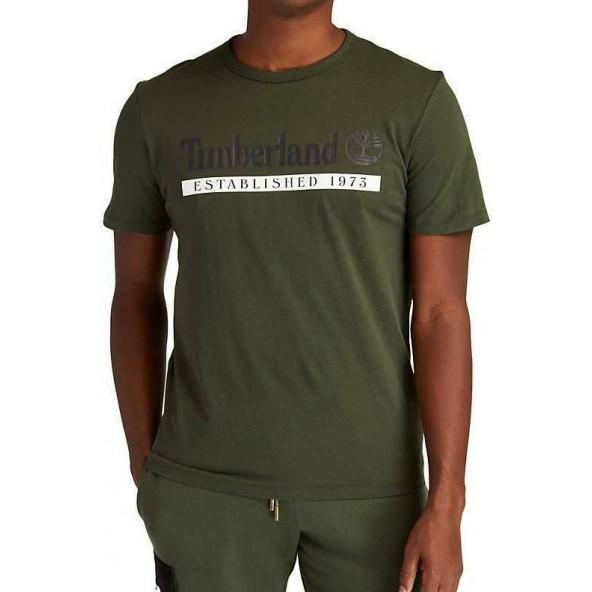Timberland TB0A2BV6CC31 μπλούζα χακί