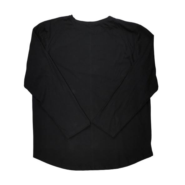 The Real Brand 06-494 μπλούζα μαύρη