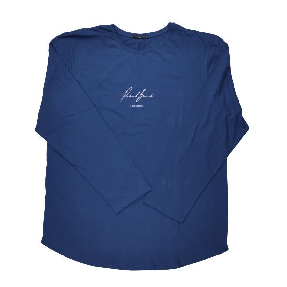 The Real Brand 06-494 μπλούζα μπλε