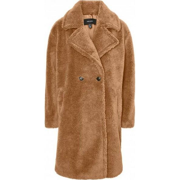 Vero moda 10250748 Παλτό tobacco brown