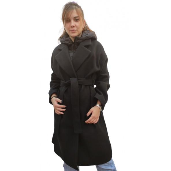 Splendid 46-101-036 παλτό μαύρο