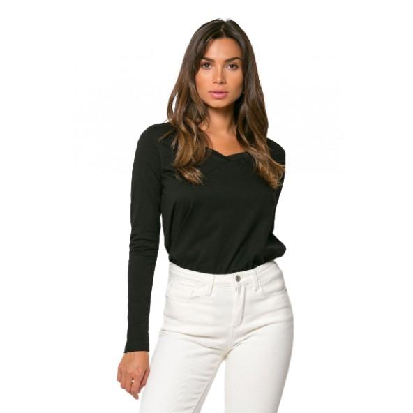 Noobass 01-27 μπλούζα μαύρη