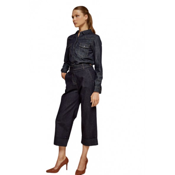 Edward WP-D-JNS-W21 Marlene-Ob jeans rinse