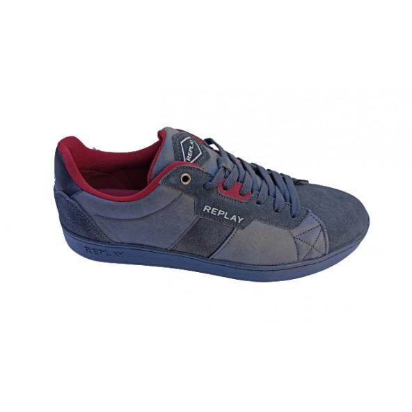 Replay RZ2V0010S sneaker black grey