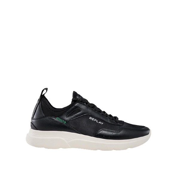 Replay RS3T0003T 0003 KITFILED lace up sneakers black