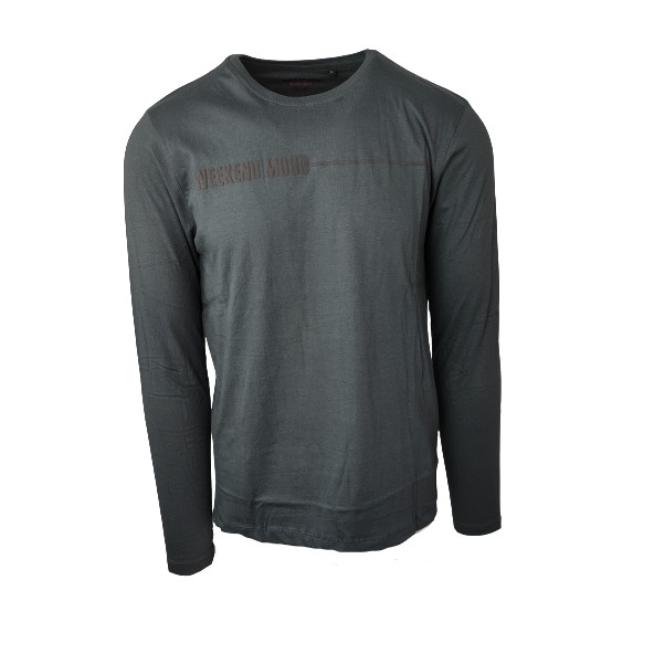 Splendid 46-206-024 long sleeve t-shirt grey