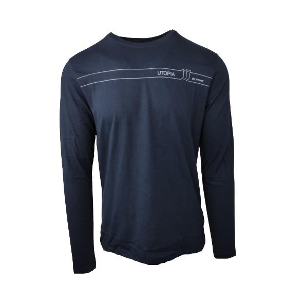 Biston 46-206-023 long sleeve t-shirt navy