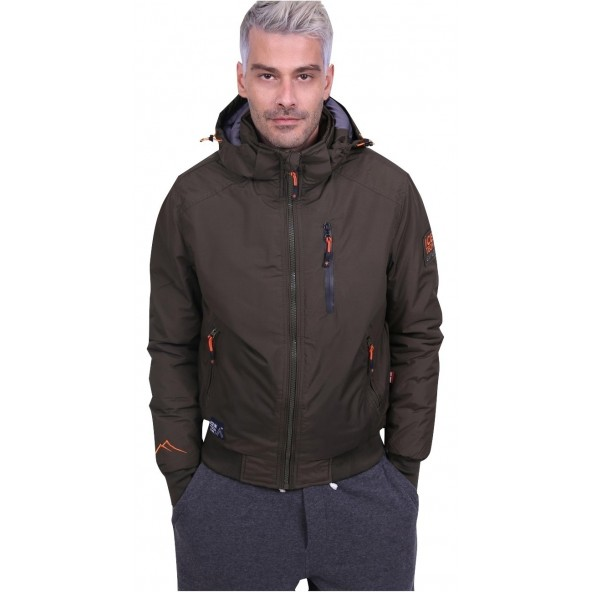 Ice tech g621 olive jacket