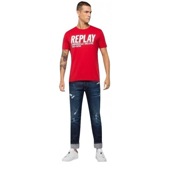 Replay 3725.000.2660 t-shirt red