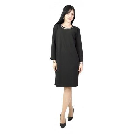 Passager 76125 Μαύρο Φόρεμα