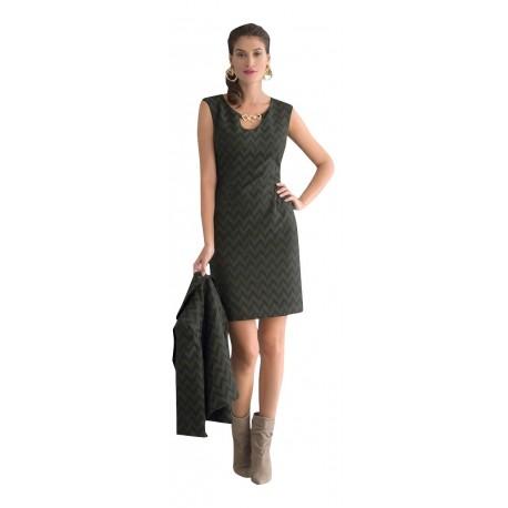 Vagias 8626-35 Φόρεμα με σακάκι