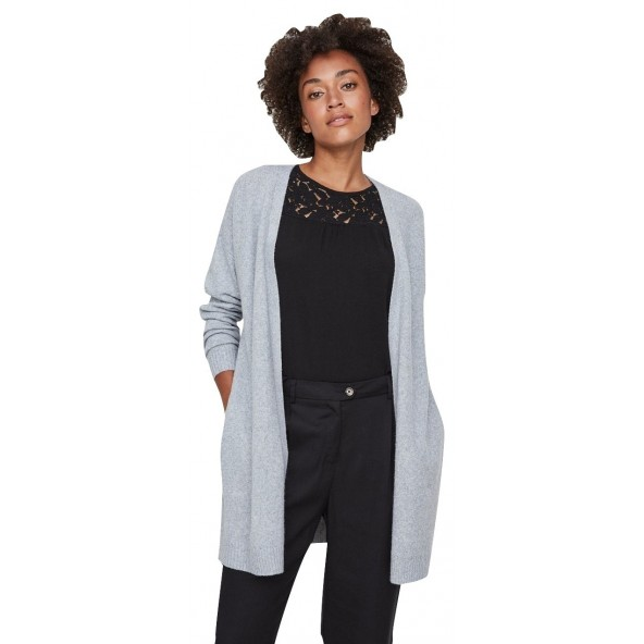 Vero moda 10201368 Light grey Ζακέτα
