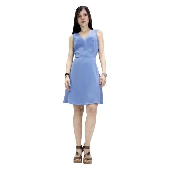 Vero moda 10213738 Γαλάζιο Φόρεμα