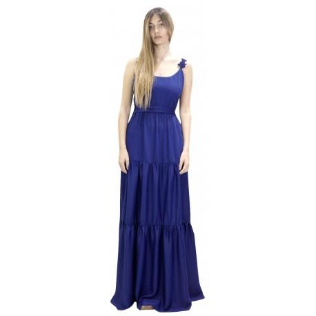 Moutaki 19.07.62 Μπλέ Φόρεμα