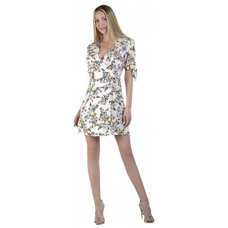 Paranoia 12320 ekrou Φόρεμα