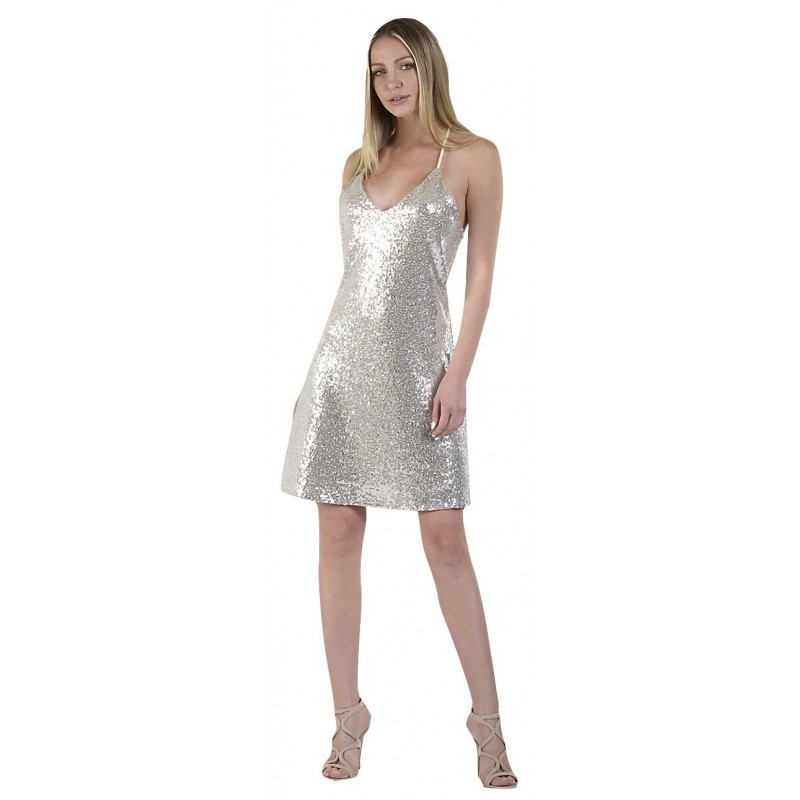 3db2178f6aed Paranoia 12309 Ασημί Φόρεμα. Loading zoom