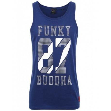 Funky buddha fbm082-04119 blue tank