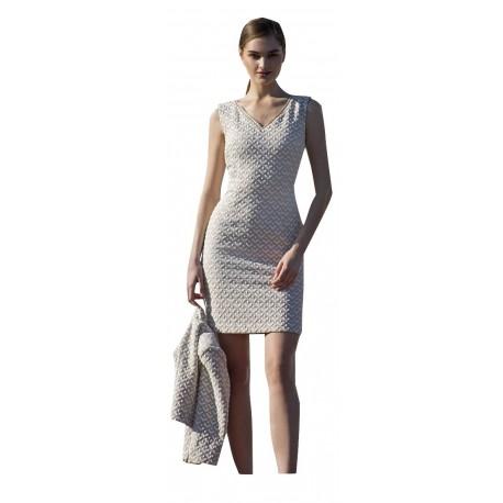 Vagias 9415-21 Φόρεμα με σακάκι