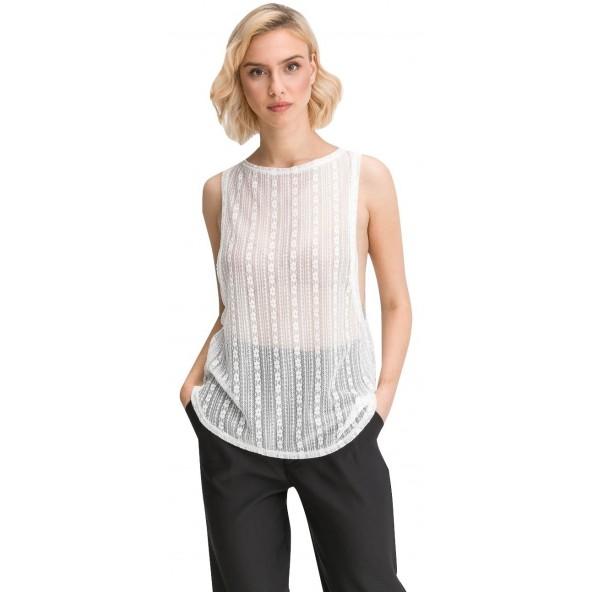 Anel 46433 Λευκό Μπλούζα