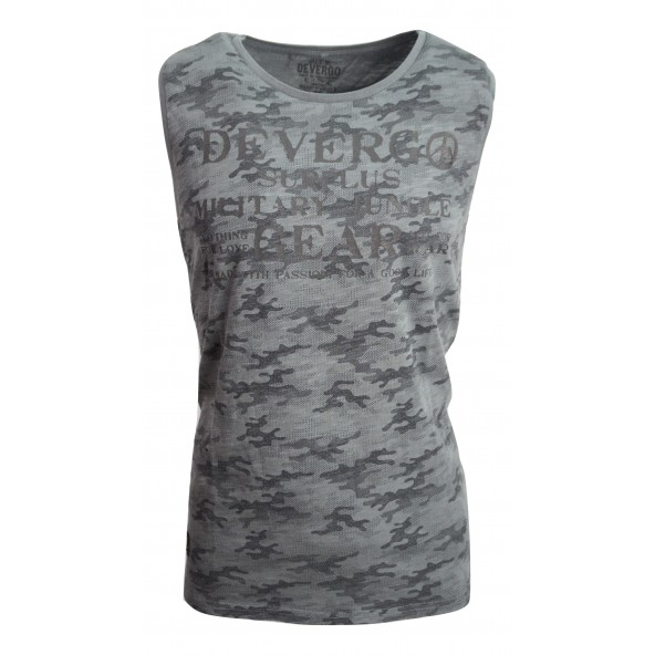 Devergo 1D914012SL3806 Μπλούζα γκρι.