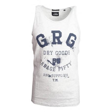 Garage 55 gam232-04119 lt grey melange tank