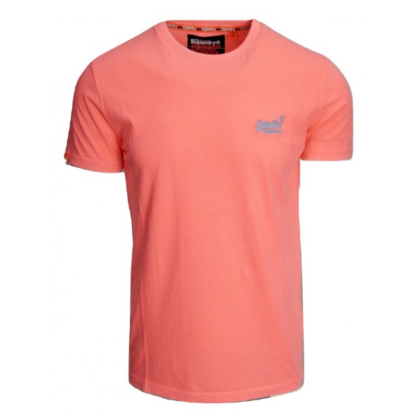 Superdry m10102st orange t-shirt