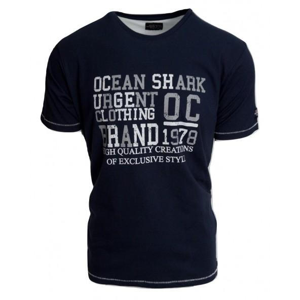 Ocean shark 211003291 navy t-shirt