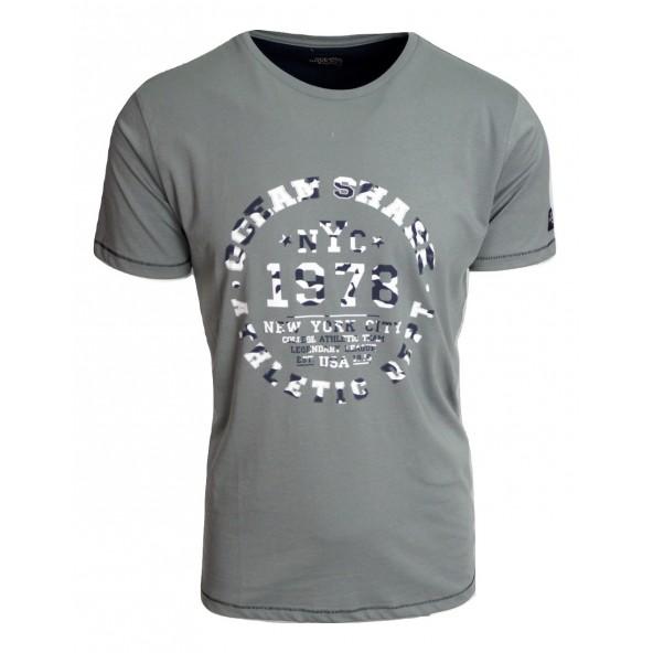 Ocean shark 211003691 grey t-shirt