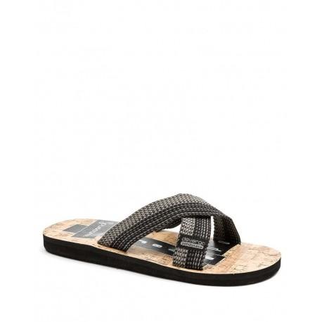 Devergo DE-BI2049CA black flip flops