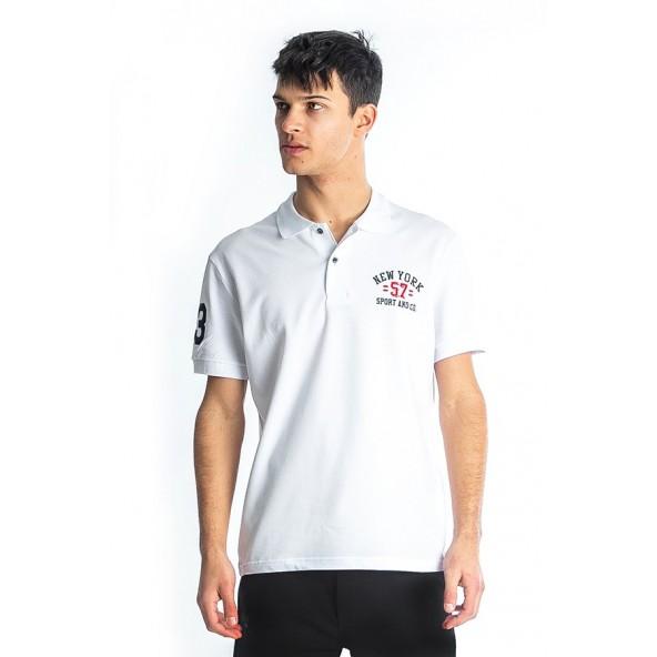 Paco 85504 Μπλούζα polo white