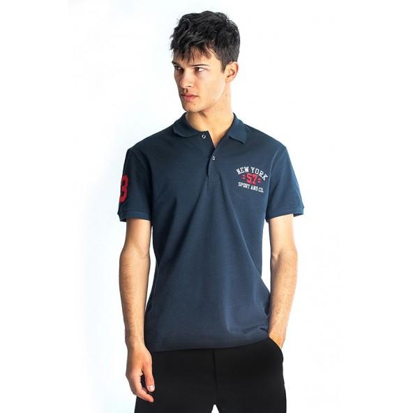 Paco 85504 Μπλούζα polo navy