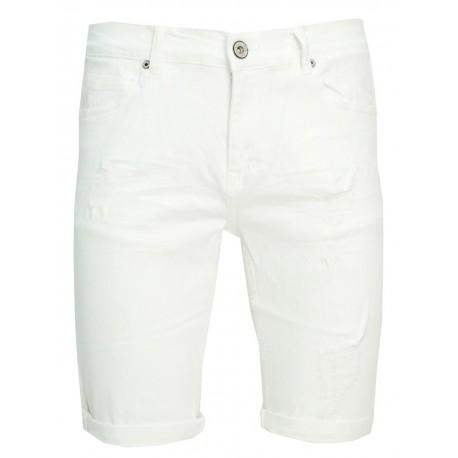 Explorer 1921107034 WHITE jean bermuda.