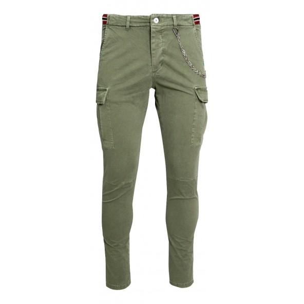 Royal punk 11219036 cargo chaki pants