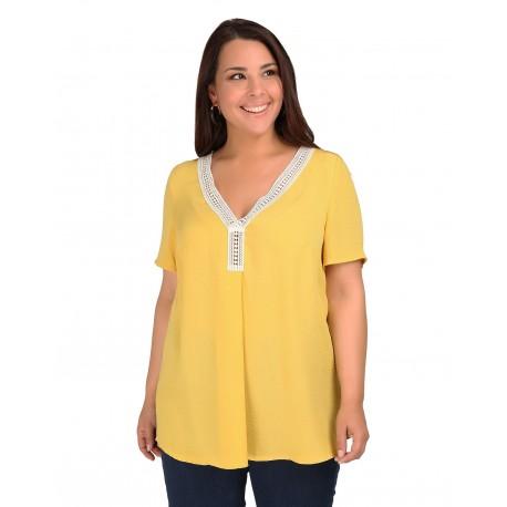a7907066dcf4 Dina 19-10-9487 Yellow Μπλούζα