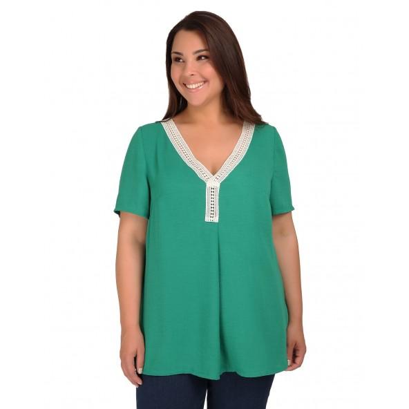 Dina 19-10-9487 Green Μπλούζα
