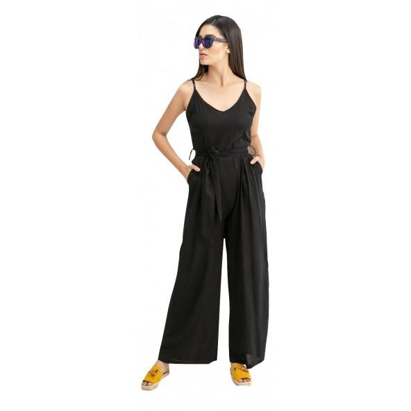 Anel 25512 μαύρη Ολόσωμη φόρμα