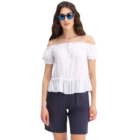 Anel 46634 Λευκό Μπλούζα