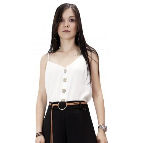 PDK 54625815 Λευκή Μπλούζα
