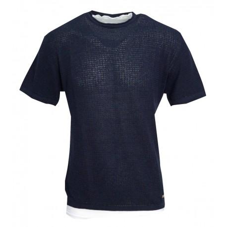Royal punk t-shirt 1901 blue navy