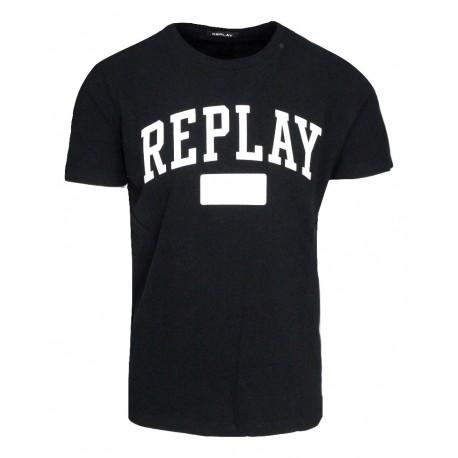 Replay M3874.000.22662.098 μπλούζα μαύρη