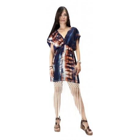 Toi-moi 50-3955-19 φόρεμα μπλε