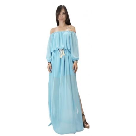 Toi-moi 50-4027-19 φόρεμα γαλάζιο