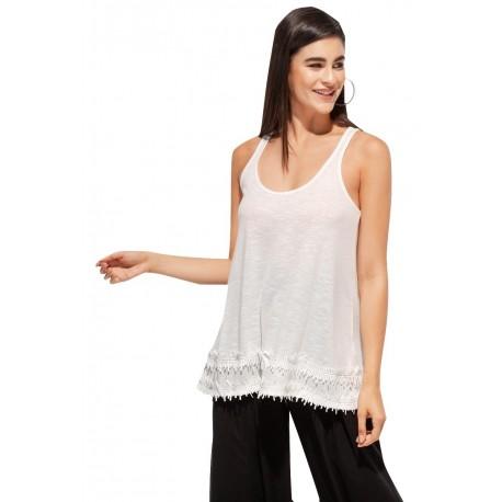 Anel 46798 white Μπλούζα