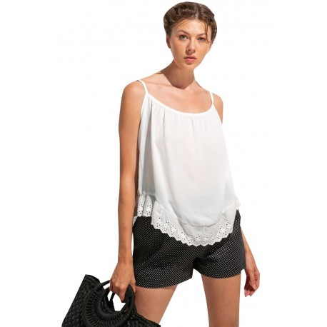 Anel 46923 white Μπλούζα