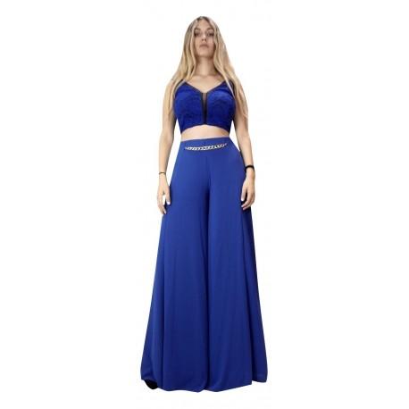 Lynne 142-520006 Μπλούζα μπλε ρουά