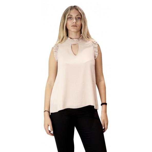 Lynne 142-510003 Μπλούζα nude