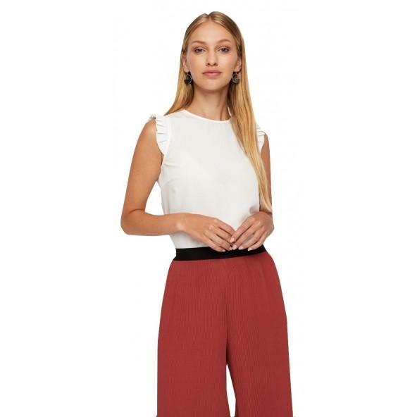 Vero moda 10220210 white Μπλούζα