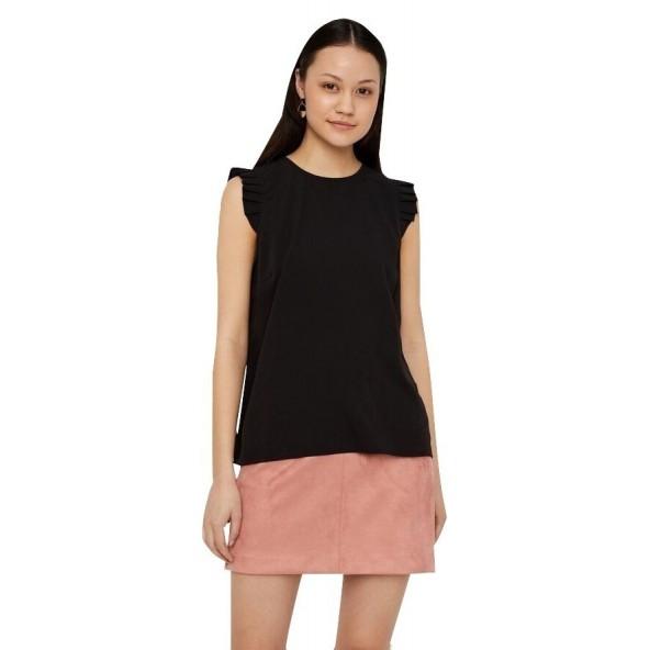 Vero moda 10220210 black Μπλούζα